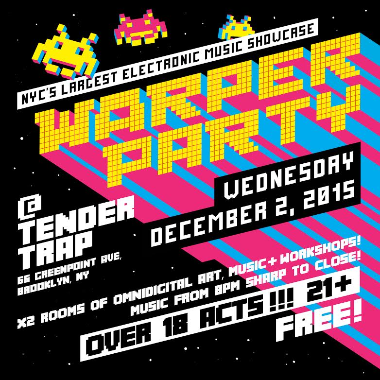 WARPER PARTY DECEMBER 2 2015