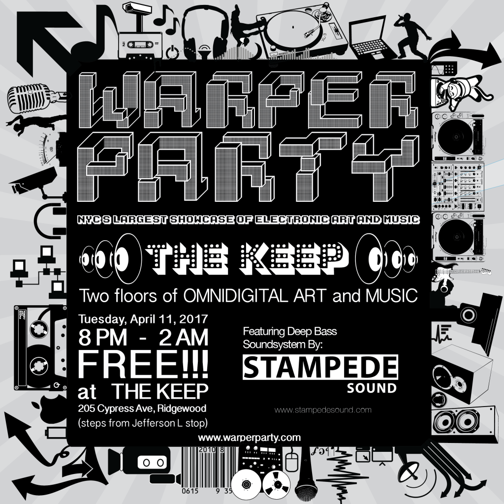 WARPER PARTY 4-11-2017 the Keep
