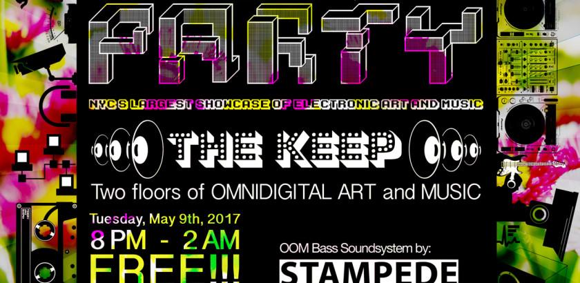 WARPER PARTY at THE KEEP, May 9, 2017