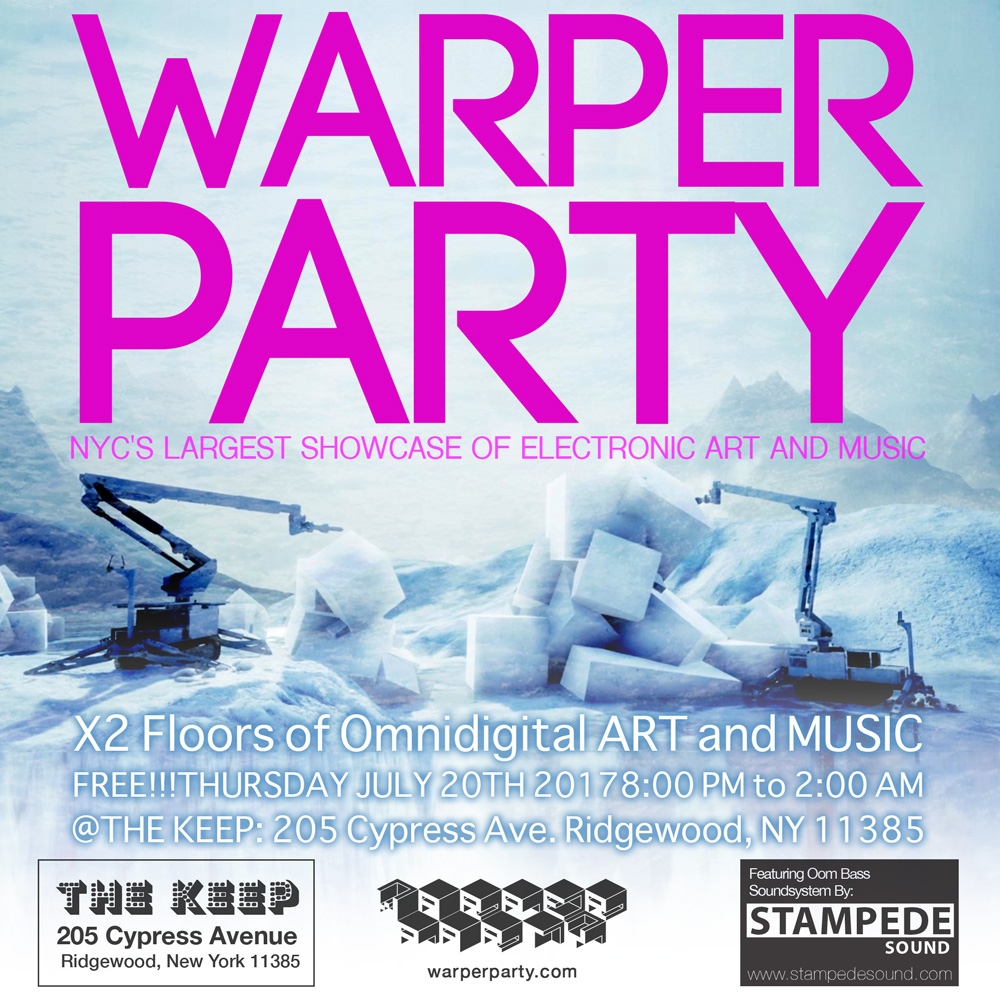 WARPER PARTY - 01/18/2018 @ The KEEP