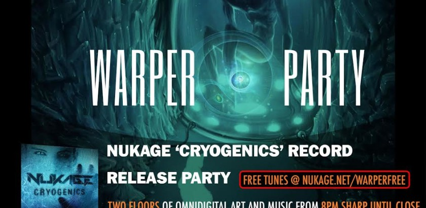 WARPER PARTY! Nuke Release Party @The Keep 03/15/2018