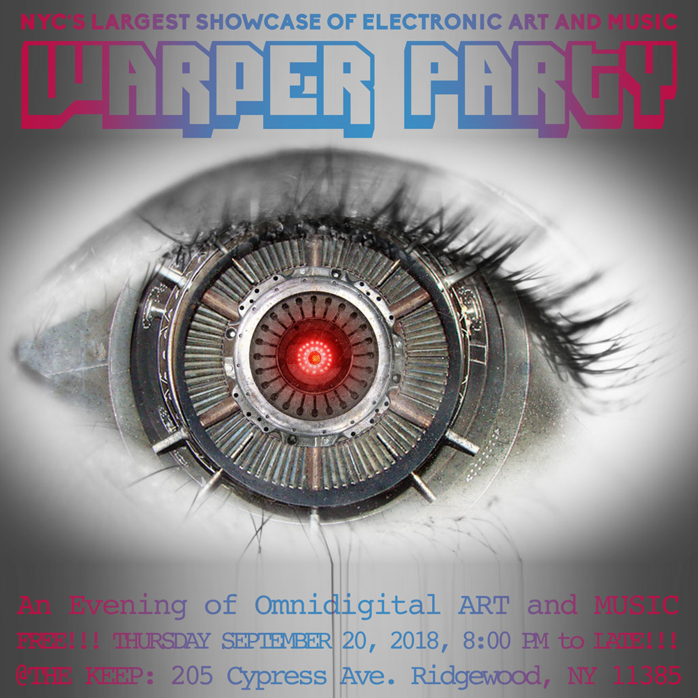WARPER PARTY @ The KEEP 09/20/2018