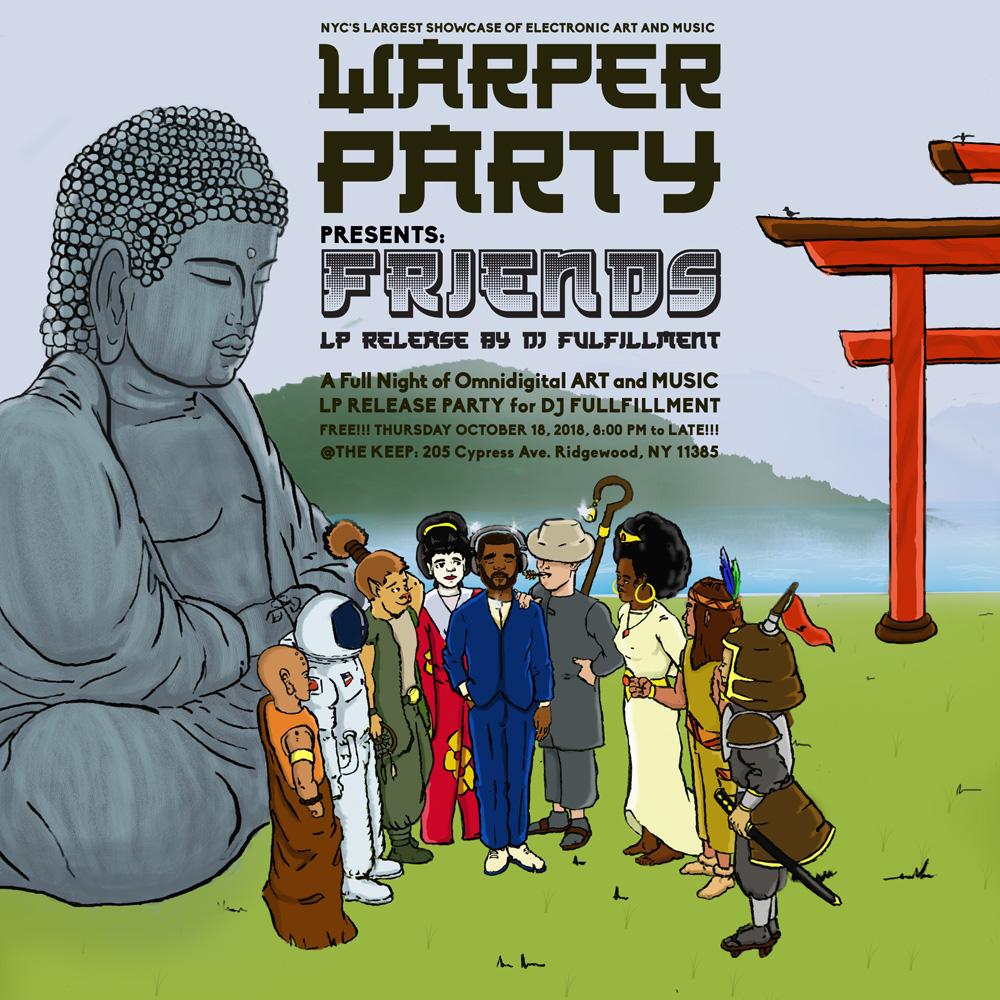 WARPER PARTY @ The KEEP 10/18/2018