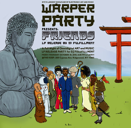 WARPER PARTY @ The KEEP 10/18/2018
