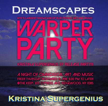 WARPER PARTY @ The KEEP 11/15/2018
