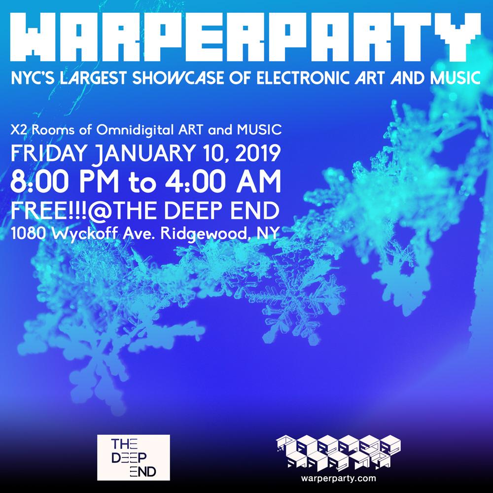 WARPER PARTY @ The DEEP END 01/10/2020